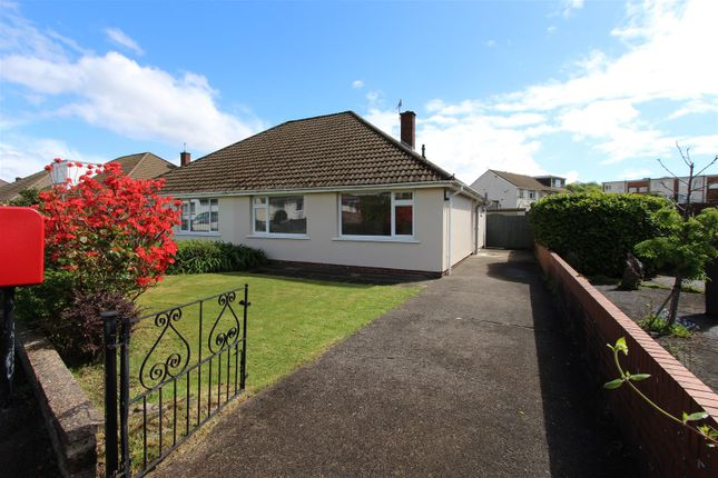 Thumbnail Semi-detached bungalow for sale in Brookside Crescent, Caerphilly