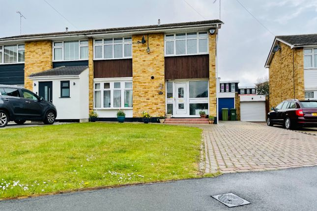 3 bed semi-detached house for sale in Long Meadow Drive, Wickford SS11