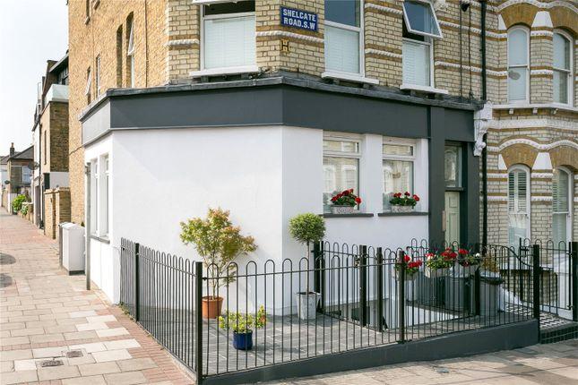 Thumbnail Flat for sale in Shelgate Road, London