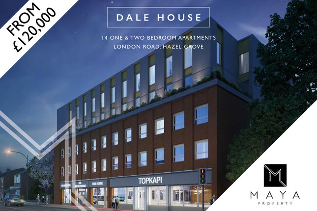 Thumbnail Flat for sale in London Road, Hazel Grove, Stockport