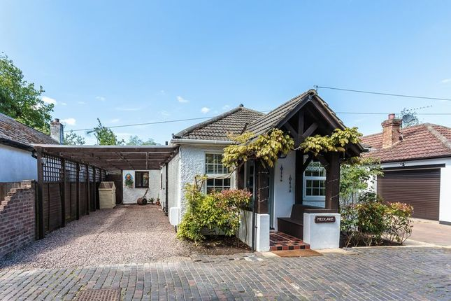 Thumbnail Detached bungalow for sale in Detached Bungalow, Conifer Lane, Egham
