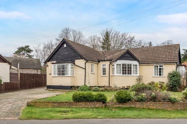 Thumbnail Detached bungalow to rent in Highfield Road, Chislehurst