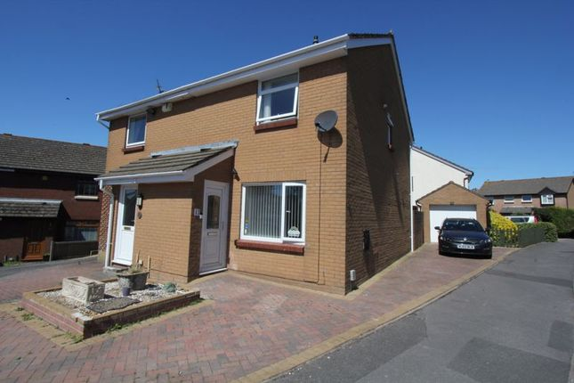 Thumbnail Semi-detached house for sale in Purdey Close, Barry