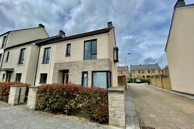 Thumbnail End terrace house for sale in Chamberlain Road, Locking, Weston-Super-Mare