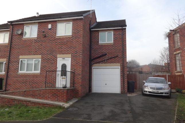 Thumbnail End terrace house to rent in David Lane, Batley Carr