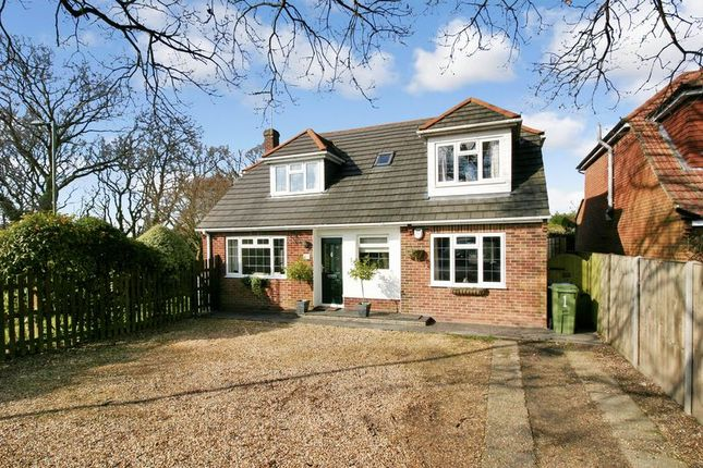Thumbnail Detached house for sale in Abshot Road, Titchfield Common, Hampshire