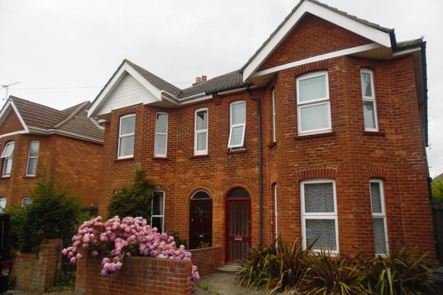 Thumbnail Flat to rent in Nortoft Road, Bournemouth