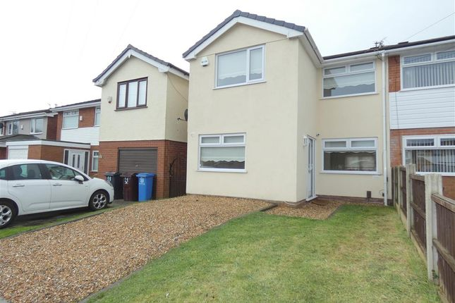 Thumbnail Semi-detached house for sale in Fields End, Huyton, Liverpool