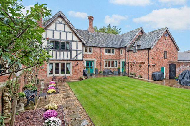 Thumbnail Detached house for sale in Arleston Manor Drive, Arleston, Shropshire