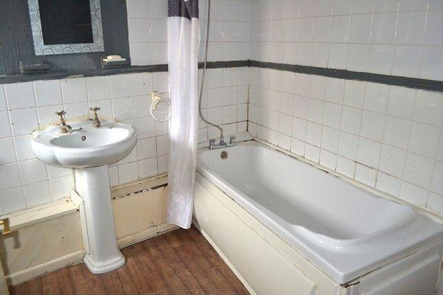 Bathroom of Hopkin Street, Aberavon, Port Talbot, Neath Port Talbot. SA12