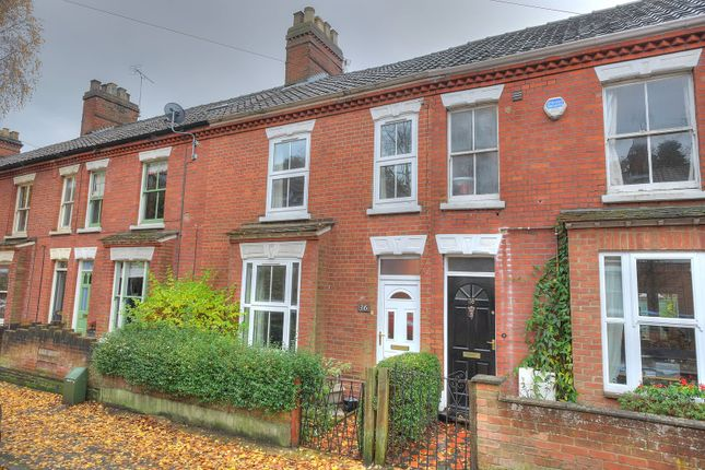 Thumbnail Terraced house for sale in Beatrice Road, Norwich