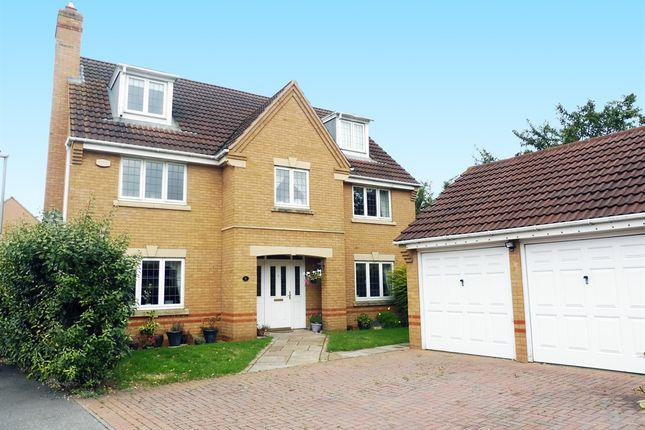 Thumbnail Detached house for sale in Chisholm Close, Wootton, Northampton