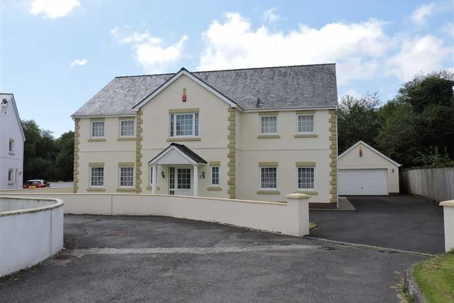 Thumbnail Detached house for sale in Gorswen, Carmarthen Road, Cross Hands
