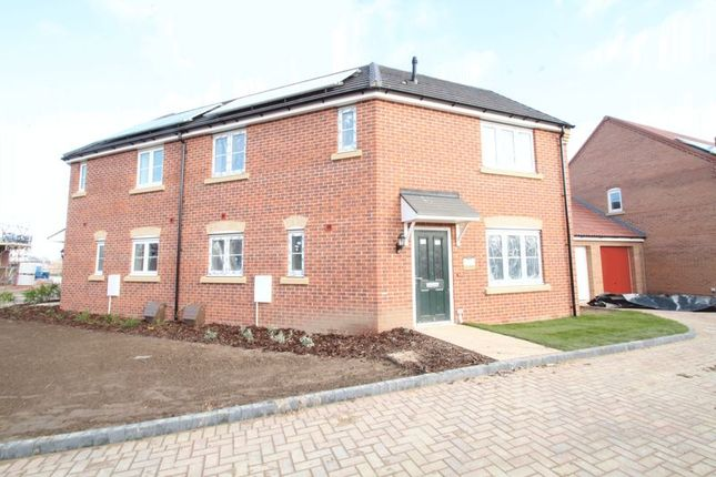Thumbnail Semi-detached house for sale in The Newbury, Eastrea Road, Whittlesey, Peterborough