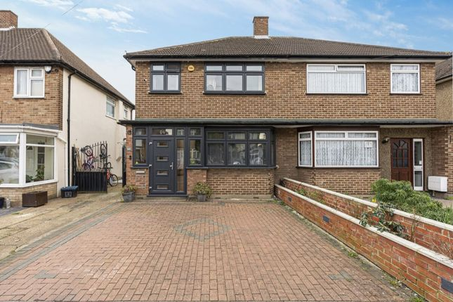 Thumbnail Semi-detached house for sale in Donald Drive, Romford