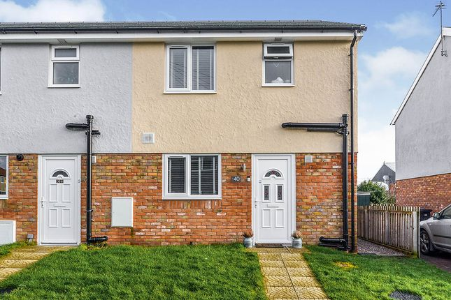 Thumbnail End terrace house for sale in Brookdale Road, Rhyl, Denbighshire