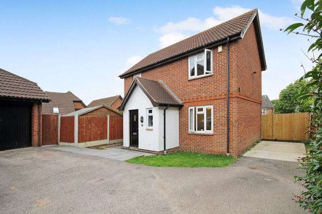 Thumbnail Detached house for sale in Yew Close, Laindon, Basildon