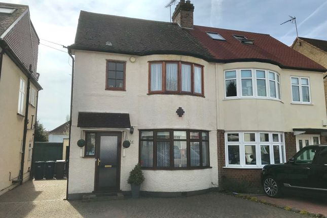 3 bed semi-detached house for sale in Vineyard Avenue, Mill Hill