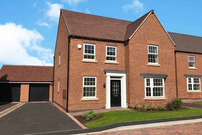"Thumbnail Detached house for sale in ""Holden"" at Lindhurst Lane, Mansfield"