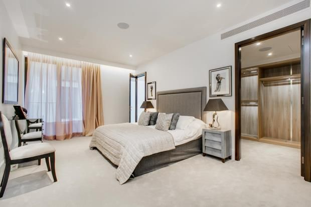 Bedroom Three of St Edmund's Terrace, Primrose Hill, London NW8