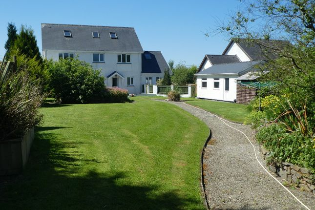 Thumbnail Detached house for sale in Bethania, Llanon