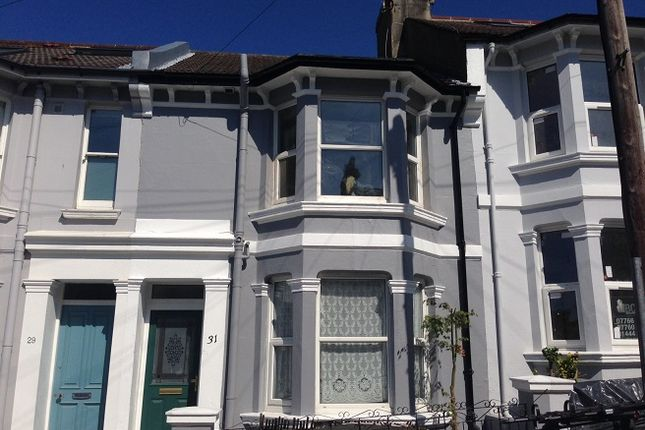 Thumbnail Terraced house to rent in Bentham Road, Brighton