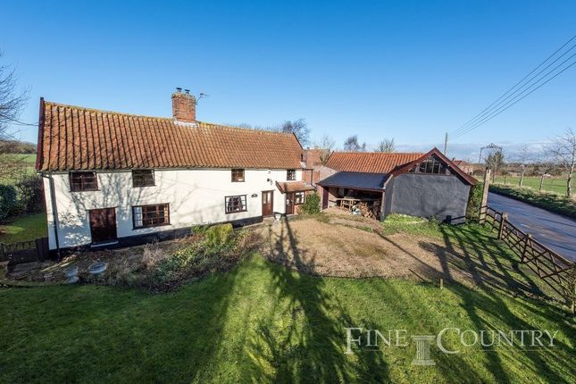 Detached house for sale in The Street, Fersfield, Diss
