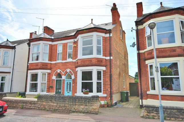 Thumbnail Semi-detached house for sale in Lady Bay Road, West Bridgford