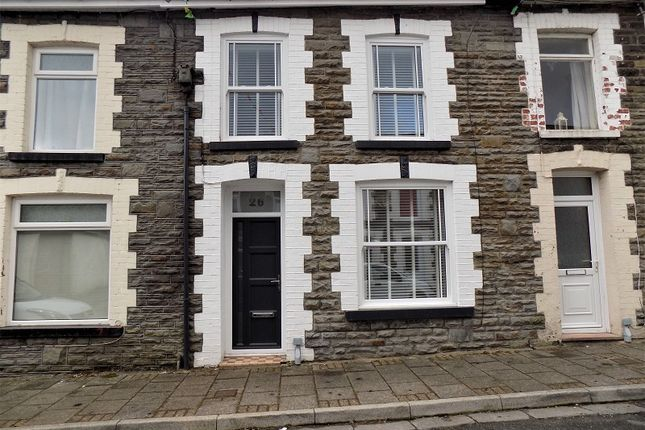 Thumbnail Terraced house for sale in Clarence Street, Ton Pentre, Pentre, Rhondda Cynon Taff.
