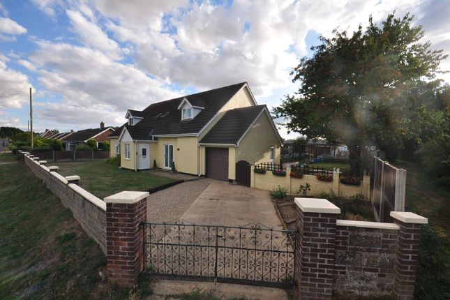 Thumbnail Detached house for sale in Hall Lane, Wacton, Norwich