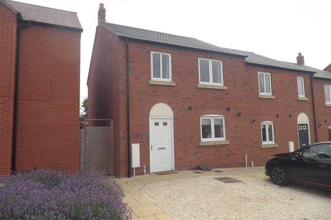 Thumbnail Semi-detached house to rent in David Way, Bishopton, Stratford-Upon-Avon