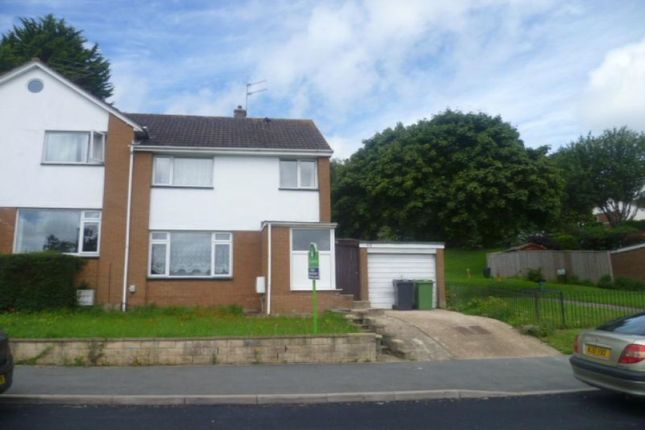 Thumbnail Semi-detached house to rent in Gloucester Road, Exeter