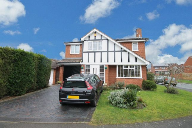 Thumbnail Detached house for sale in Bellingham, Wilnecote, Tamworth