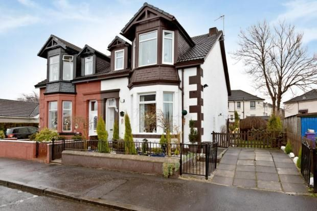Thumbnail Detached house to rent in Barfillan Drive, Glasgow