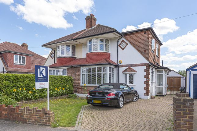 Semi-detached house for sale in Glenwood Road, Stoneleigh, Epsom