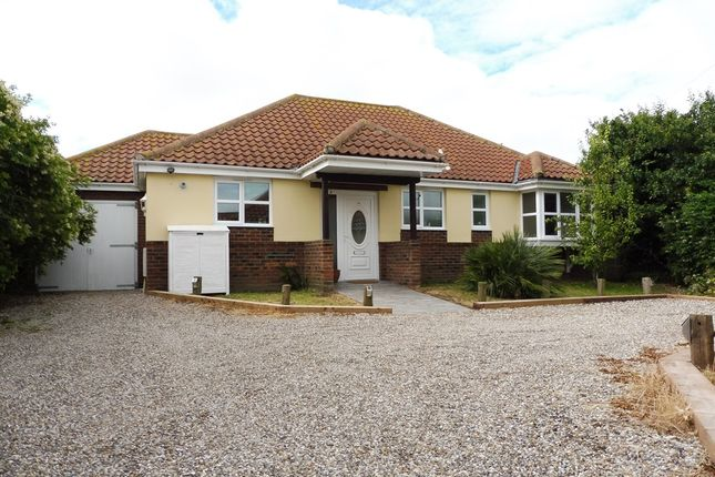 Thumbnail Detached bungalow for sale in Beccles Road, Bradwell, Great Yarmouth