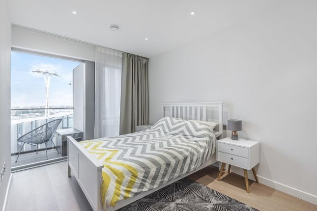 Bedroom of No.2, Upper Riverside, Cutter Lane, Greenwich Peninsula SE10