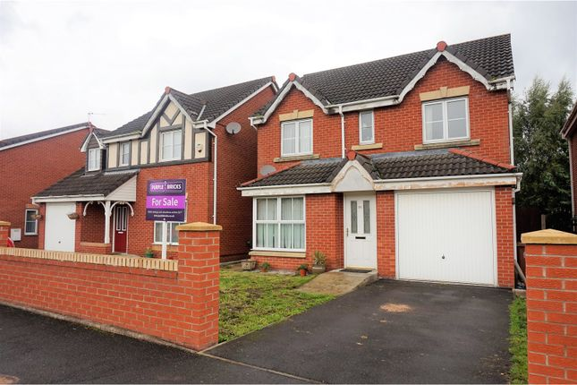 Thumbnail Detached house for sale in Telford Drive, St. Helens