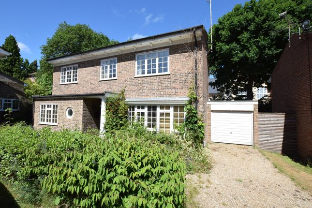 Thumbnail Detached house for sale in Woodlands Close, Blackwater, Camberley
