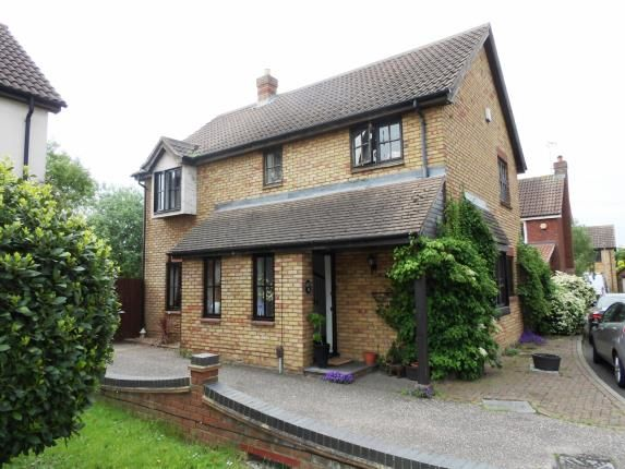 Thumbnail Detached house for sale in Thetford Place, Laindon, Basildon