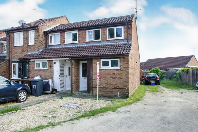 Thumbnail End terrace house for sale in Spilsby Close, Lincoln