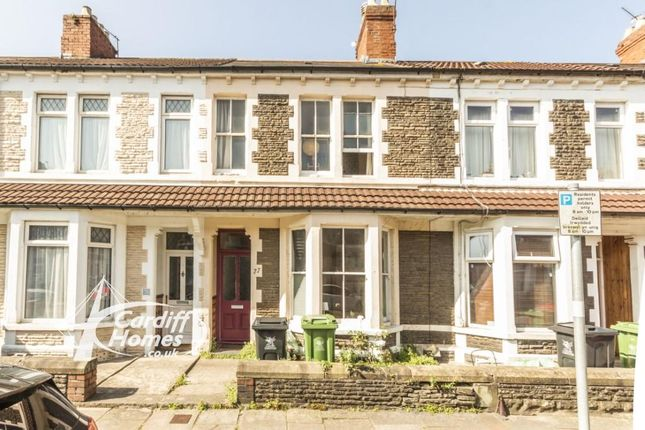 Thumbnail Terraced house for sale in Brithdir Street, Cathays, Cardiff