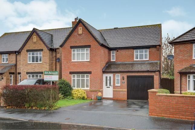 Thumbnail Detached house for sale in Stephenson Way, Honeybourne, Evesham