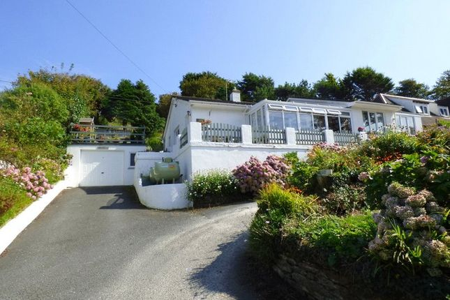 Thumbnail Detached bungalow for sale in Perrancoombe, Perranporth