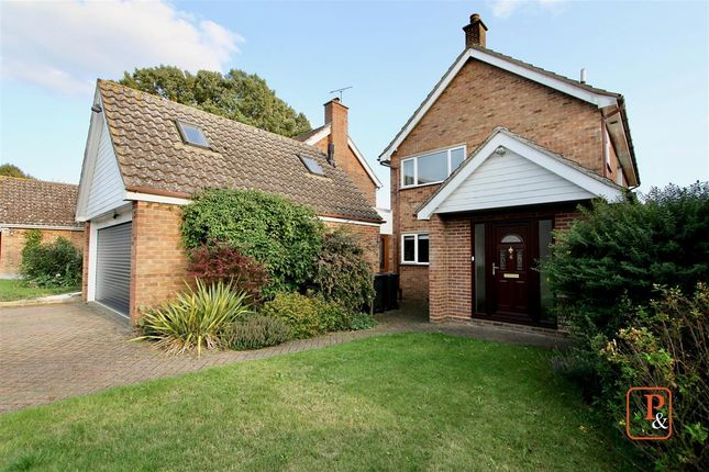 Thumbnail Detached house for sale in Gascoigne Drive, Henley, Ipswich