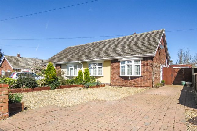 Thumbnail Semi-detached bungalow for sale in Holme Court Avenue, Biggleswade