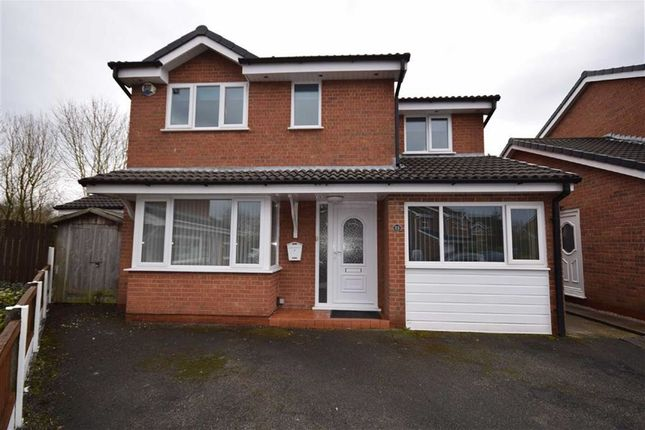 Thumbnail Detached house for sale in Medway Close, Lostock Hall, Preston, Lancashire