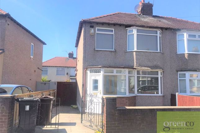 Thumbnail Semi-detached house to rent in Wheatley Avenue, Bootle