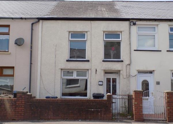 Thumbnail Terraced house to rent in Beaufort Hill, Beaufort, Ebbw Vale