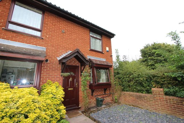 Thumbnail End terrace house to rent in Fincham Close, Ickenham
